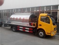 Dongfeng 6*4 5M3 Bitumen Tanker Synchronous Chip Sealer,Synchronous Chip Spreader