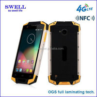 5.0inch OGS screen 4G smartphone with MSM quad core DUAL MINI SIM CORED rugged phone X9