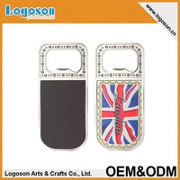 Multi-functional London souvenir magnet foil paper bottle opener