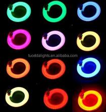 Hot dot free ! Colored jacket&milky white jacke LED neon light CE&ROSH