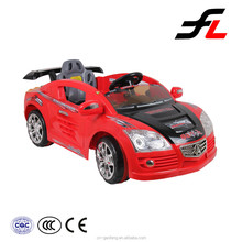 New design electric car for children on the light