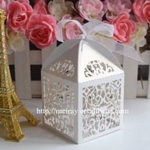 Unique wedding favors, white paper bomboniere wedding,wedding favor boxes