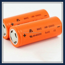 High Drain 26650 Battery Mnke imr-26650 3500mah 60amp discharge li ion cells 3.7v icr 26650 li ion rechargeable battery for mod