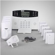 door sensor PIR sensor smoke detector gas detector fire alarm Home Security Alarm&Wireless Burglar Alarm&Home Alarm System