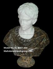 Décoratif sculpté romaine marbre buste