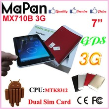 android4.4 dual core tablet android 3g sim card slot mini pc gsm phone calling tablet pc 7 inch