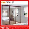 interior tempered glass door with partition wall interior door