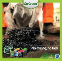 Manhole cover using cold mix asphalt / low VOC asphalt road repair