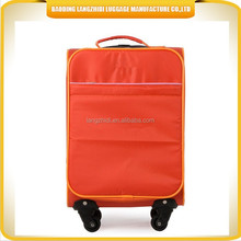 personalized style young peaple's patent fashion suitcase with ergonomic design trolley suitcase set