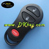 High quality 2+1 button car remote control cover for Chrysler key Chrysler key cover