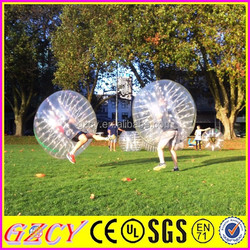 Human Bumper Ball Inflatable Bubble Ball Suits