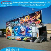 2015 China Zhuoyuan 5d cinema simulator theater rider in guangzhou