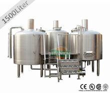 de acero inoxidable comerciales cerveza equipo con certificado ce o ul