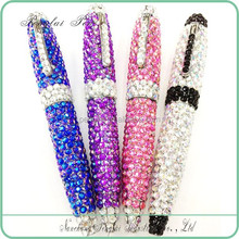 crystallized gift metal crystal pen diamond jewelled crystal bling writing pens