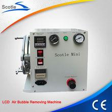 Digitezer defoaming divide bubble machine Scotle mini air bubble removing machine to fix lcd bubble