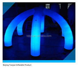 Hot Sale Decoration party Inflatable Led Lighting with arch