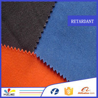 Alibaba manufacture NFPA2112 proban finished 100% cotton twill fabric used for industry