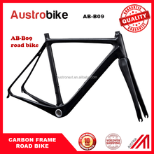 hot sale Super light road carbon frame T800 48/51/54/58/60cm BB86/PF30 carbon fiber light frameset high quality