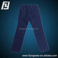 New Fashion Men's Solid Slim Fit Cotton Casual Pants Trousers