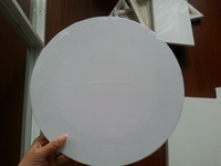 Round Shape Pinewood Stretched Canvas(back stapled)