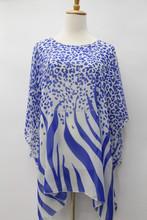 2015 hot sale popular girls/women colorful chiffon beach dress, chiffon pareo