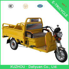 three wheel electric motor bike cycle for cargo