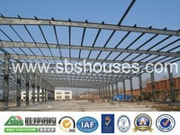 C section Steel I beam building construction/warehouse/workshop/