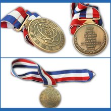 Best quality custom metal medal of honor with ribbon for personal collection