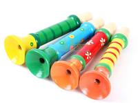 Children Wooden Toy Musical Instrument Trumpet ,Samll toy