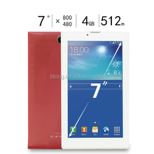"OEM 7"" android touch tablet with sim card"