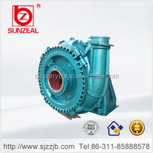 Heavy Duty Horizontal Diesel Motor Rubber Lined Centrifugal Sand Pumps
