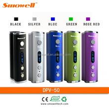 2015 Smowell latest electronic cigarette 50w box mod dx 80 box mod