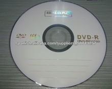 Disco DVD en Blanco 4.7GB 16X Impresión de imágenes A Grado