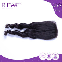 Customize Guarantee 2 Years 7a grade brazilian hair and closure