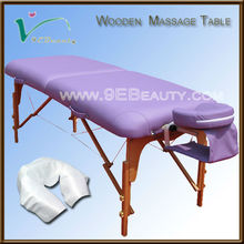 salon furniture best therapy wooden portable massage table