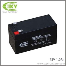 12v1.3ah Rechargeable Battery alarm battery SLA batteries