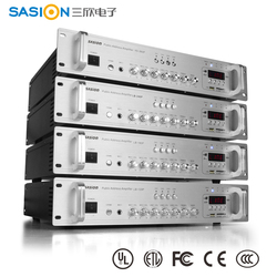 2015 trade assurance supplier SASION public address system PA amplifier with CE
