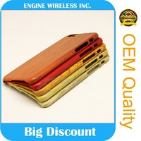 mobile phone spare parts wooden case for iphone