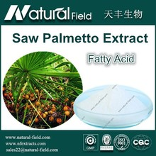 Factory Supply 100% Pure Natural Saw Palmetto Extract Fatty Acid 45%