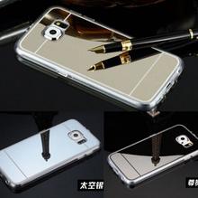Factory Price Alumuium Bumper Case For Samsung Galaxy Note 4 Ultra Slim Mirror Mental Cover Case