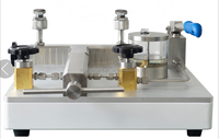 High pressure gauge tester with pressure 2500bar