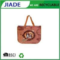 High quality pp non woven bag for christmas shopping/recycled tote bag/popular cartoon pp non woven bag
