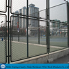 anping manufacture black plastic coated chain link fence