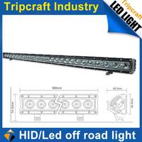 39inch 120W LED Work Light bar, one row Led Light Bar,Offroad spot flood light lamp