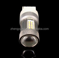 Top Quality LED turn/ brake signal lights 500LM T20 3014 SMD car bulb with awesome brightness to enhance your safety