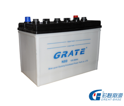maintenance autotmotive batteries wholesale dry charged car battery 12V75AH n70z hybrid car battery for sale