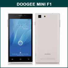 DOOGEE TURBO MINI F1 MTK6732 1.5GHz 64bit Quad Core 4.5 Inch QHD Screen Android 4.4 4G LTE Shenzhen Very Small Mobile Phone