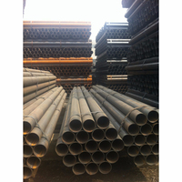 """4"""" Welded Steel Pipe Class B, plain ends, conforming to BS 1387/1985, 5.8 Mtr Long - Surya"""