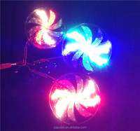 2015 led flash lighting wheel for motorcycle and car in guangzhou