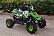 "new design 49cc mini atv quad for kids 2 stroke pull start 4"" wheels"